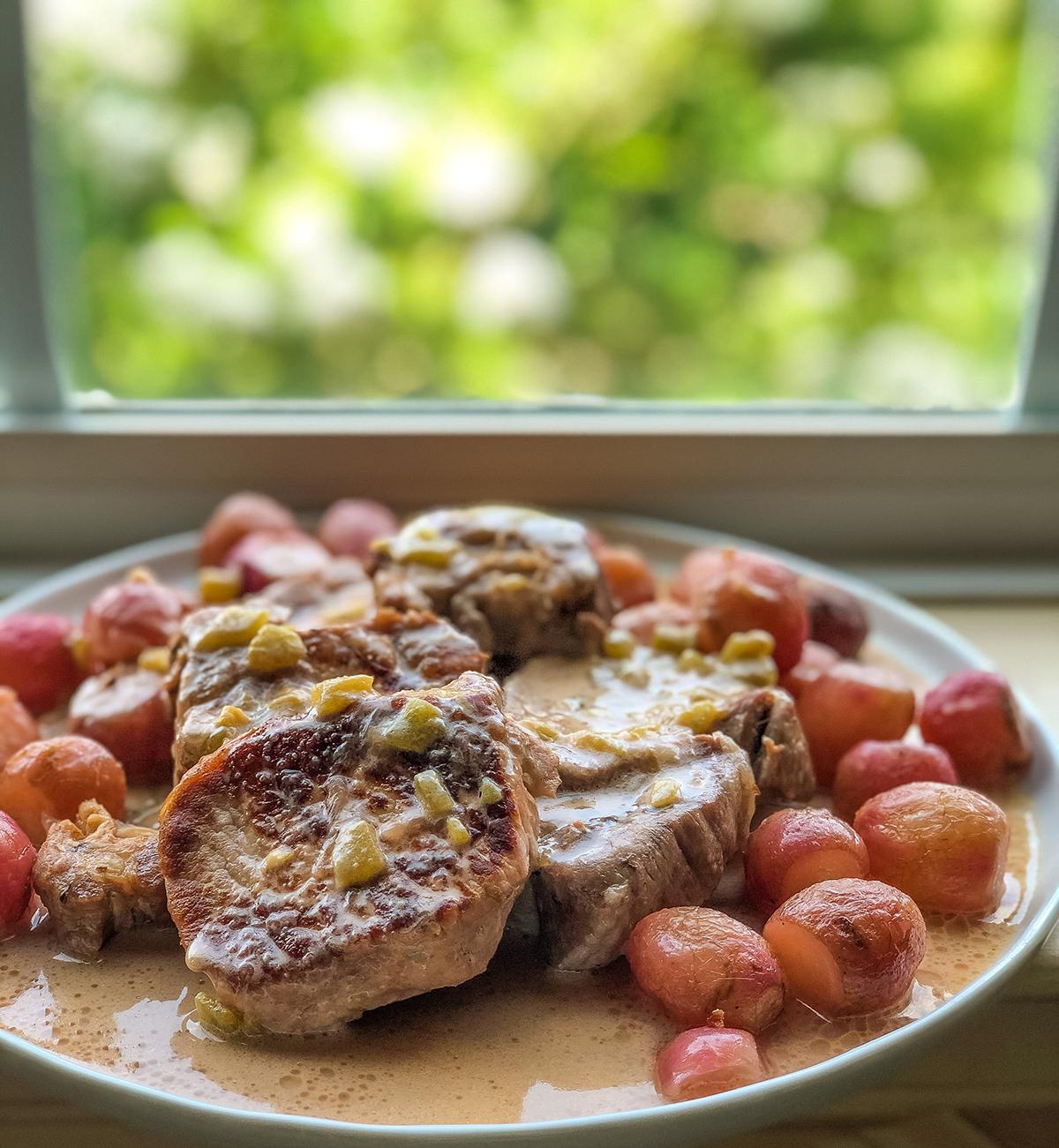 Kristy Bernardo Green Chile Pork Chops
